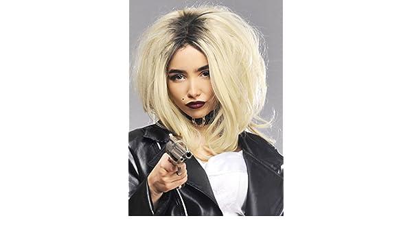 Mujeres de lujo La novia de Chucky peluca estilo: Amazon.es: Juguetes y juegos