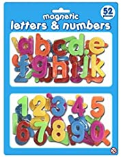 Fridge Magnetic Letters and Numbers
