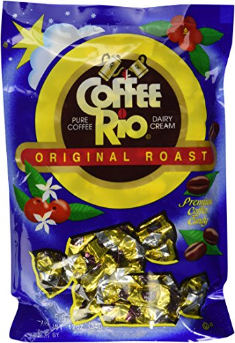 3 Packs Coffee Rio Pure Coffee & Dairy Cream Premium Coffee Candy 12 OZ (340g) (Trader Joes Coffee Candy)