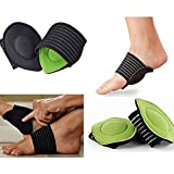 EDTara Universal Feet Arch Support Breathable Cotton Foot Protection Pads for Aching and Painful Feet One Size