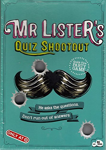 Mr Listers Quiz Shootout: Quick-Fire Party Trivia Game by Big Potato]()