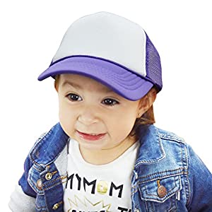 DALIX Infant Trucker Hat Baby Girl Boys Cap Extra Small...