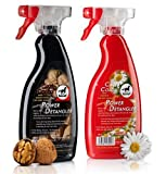 Leovet power detangler 500ml - Colour: Walnut for dark horses by William Hunter Equestrian