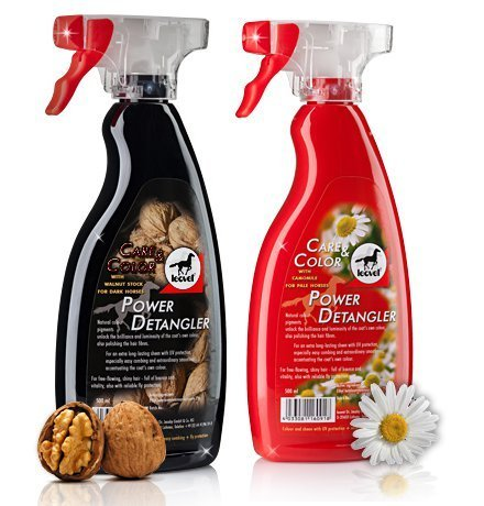 Leovet power detangler 500ml - Colour: Walnut for dark horses by William Hunter Equestrian by William Hunter Equestrian