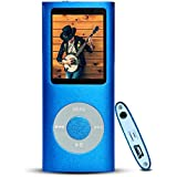 G.G.Martinsen 16 GB MINI USB Port Blue Portable MP3/MP4 Player with Multi-lingual OS , Multi-Functional MP3 Player / MP4 Player with Mini USB Port, Voice Recorder , Media Player , E-book reader (Blue)