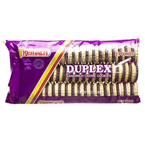 Kemach Duplex Sandwich Creme Cookies 32 Oz. Pack Of 3.