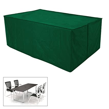 WATERPROOF OUTDOOR GARDEN FURNITURE PROTECTION COVER RAIN UV PROTECTION GREEN