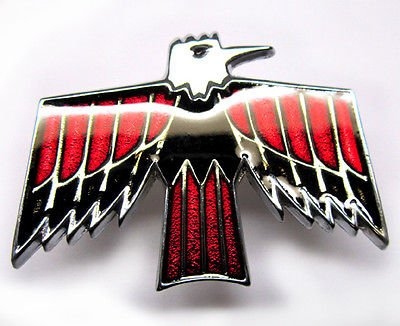The Parts Place Firebird Deluxe Door Panel Emblem