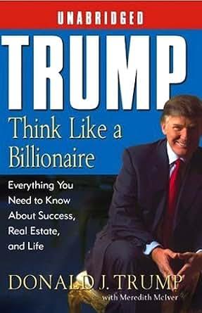 think like a billionaire donald trump free pdf download