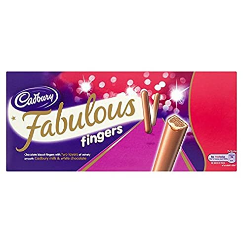 Cadbury Fabulous Finger 110g (Packung mit 24 x 110g)