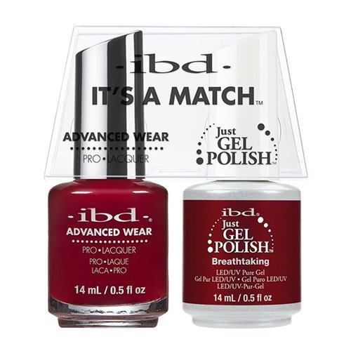 ibd Advanced Wear Color Duo Breathtaking #519 UV Gel Color