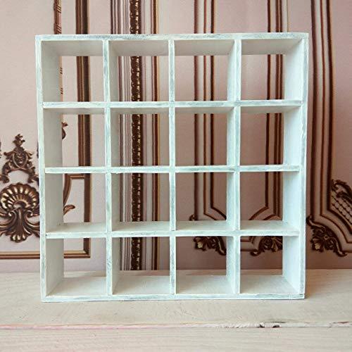 Miniature dollhouse drawer. White wooden display storage organizer. 1:6 scale or smaller doll - Drawer Miniature