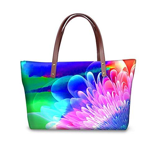 Purse Top Satchel Women Handbags Handle Bags FancyPrint Foldable Shopping W8ccc3459al Wallets UYxwxtq6
