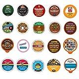 Coffee Variety Sampler Pack for Keurig K-Cup Brewers (Premium Coffee, 20)