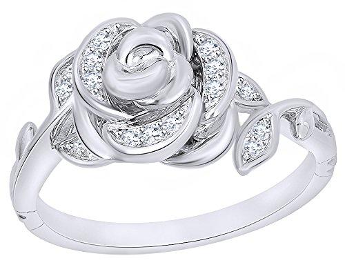 WHITESTONE JEWELRY CO. Hazelnut Coffee Black Onyx Stone Ring, Stackable, for Men and Women, Size 3.5-15