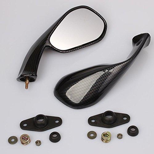 Spiegelset carbon look geschikt voor Aprilia RS 50 125 250 Extrema/Replica