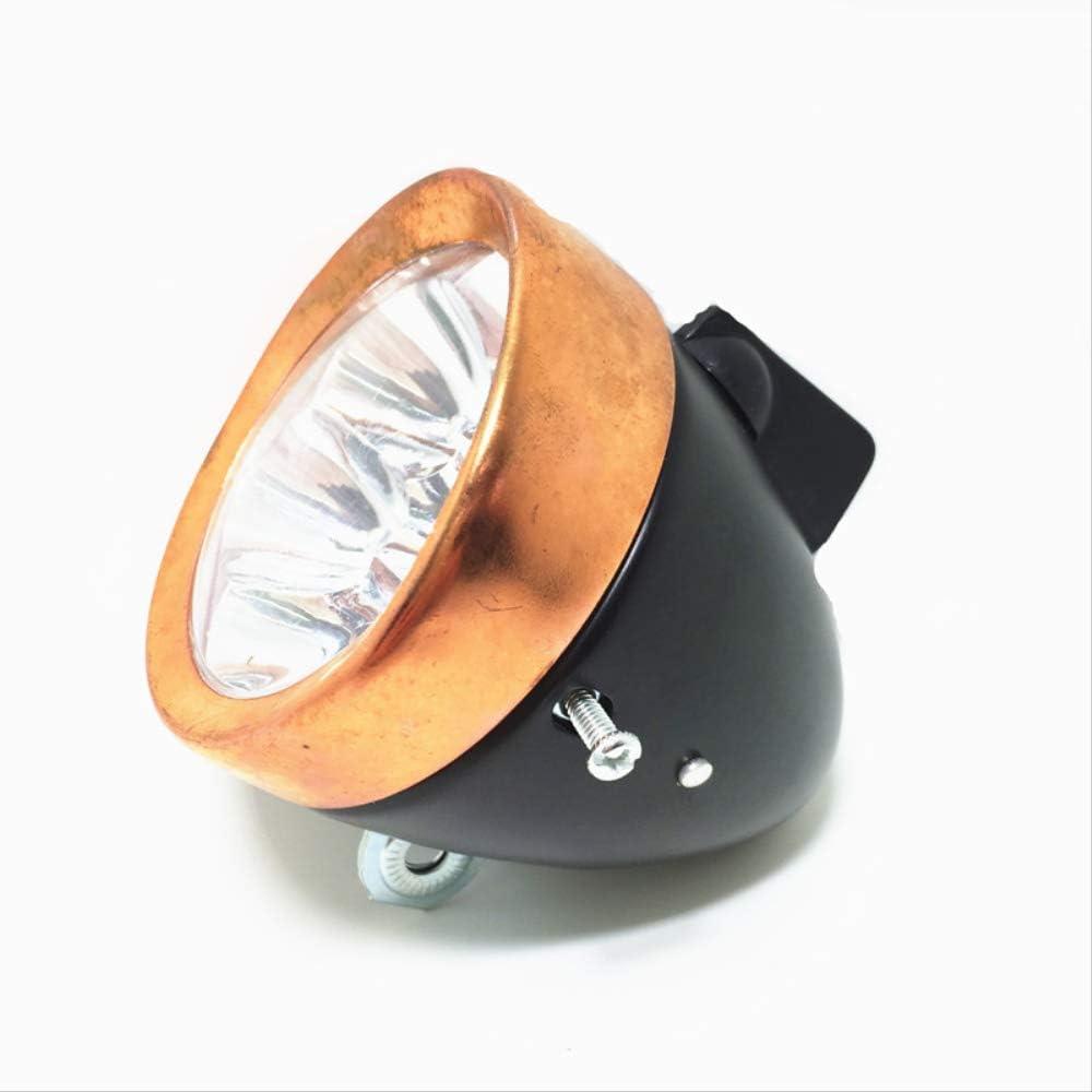 LED Bike Lights Retro Bike Riding Supplies Battery Led Lights//Led Bike Headlight//Bicycle Light Copper//Front Headlights