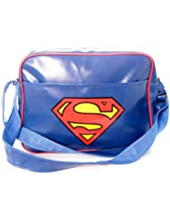 Superman Mens Classic Logo Messenger Bag
