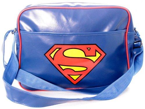 Superman Umhängetasche, Marineblau (Blau) - SUPBAG13100