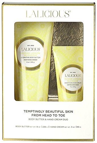 Cuticle Lemon Salve (LALICIOUS - Sugar Lemon Blossom Body Butter & Hand Cream Duo)