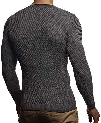 Nelson Leif Unita shirt Uomo Anthrazit Tinta Lunga T Manica Fdwrxqd