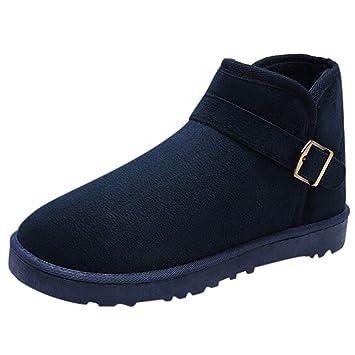 LuckyGirls Zapatos para Hombre Botas de Nieve Zapatillas Casual Moda Cómodas Calzado Planos: Amazon.es: Deportes y aire libre