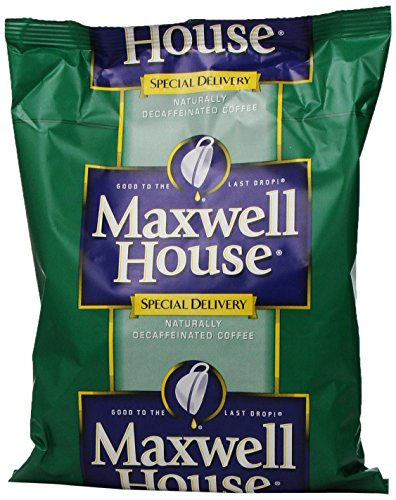 Maxwell House Special Delivery Shy Roast Decaf Coffee, 1.3 oz. pack, Pack of 42 Maxwell House Decaffeinated Coffee