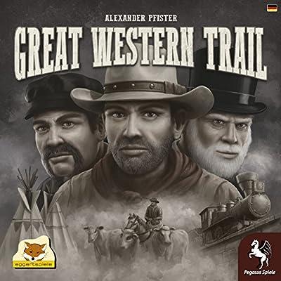 Pegasus Press PEG54590G Great Western Trail Board Game: Toys & Games