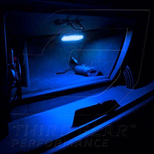 Optix TGP T10 Blue 6 LED SMD Glove Box Wedge Light Bulb Single 2005-2010 Chrysler 300 ALL