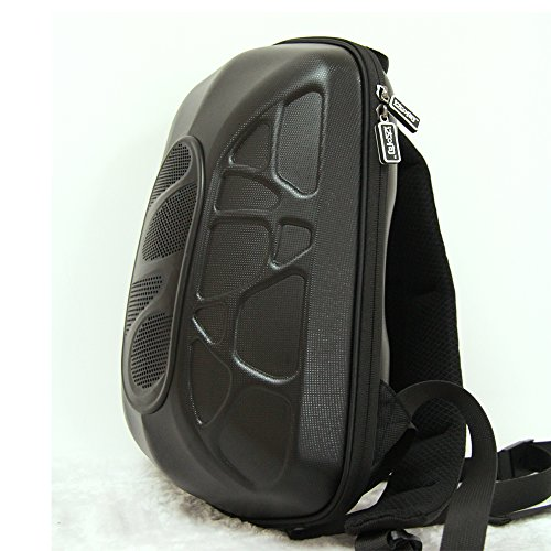 Outdoor Cycling Bluetooth Mp3 Speaker Backpack Bag Stereo Music Amplifier Black (Bike Accesories Bags compare prices)