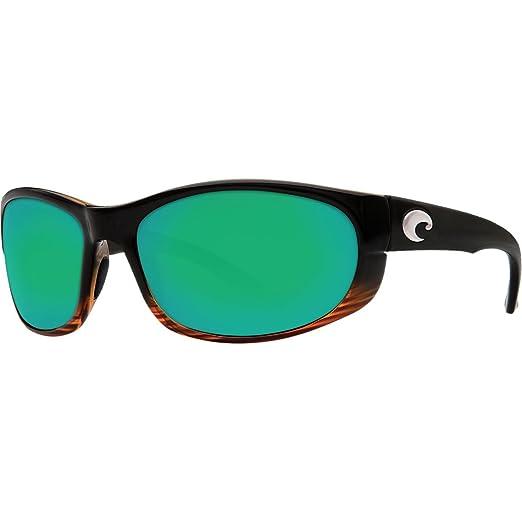 ed34a1d504fc5 Amazon.com  Costa Del Mar Howler Sunglasses Coconut Fade   Green ...