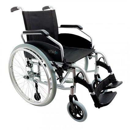 Silla de ruedas DUO con ruedas grandes extraíbles, fabricada ...