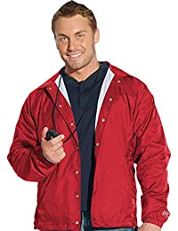 Mens Coaches Water Resistant Slash Pockets Jacket