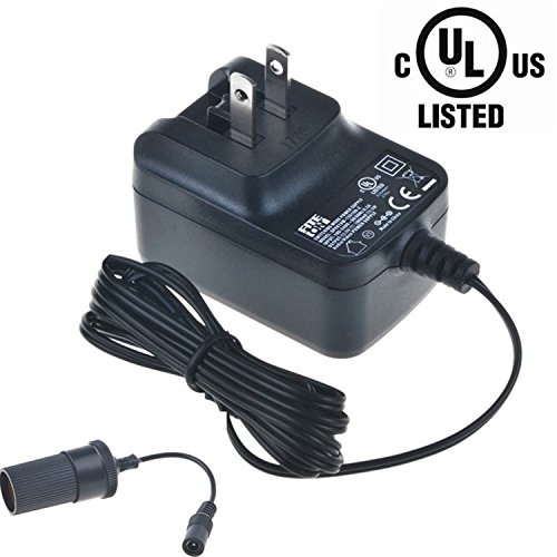 [UL Listed] FITE ON 12V 1A Cigarette Lighter Plug Socket AC/DC Adapter for HobbyZone HBZ4847 12V DC 2-Cell LiPo Charger 300mAh 12VDC Power Supply Cord Cable Battery Charger Mains PSU