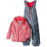 Columbia Little Girls' Frosty Slope Set, Punch Pink Floral, X-Small