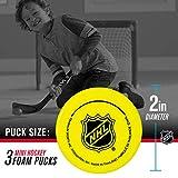 Franklin Sports Mini Foam Hockey Pucks - Indoor