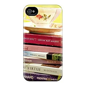 High Quality Mobile Case For Apple Iphone 4/4s With Custom High-definition Tea Cup Image TimeaJoyce