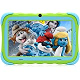 【Upgraded】 iRULU 7 inch Android 7.1 Kids Tablet IPS HD Screen 1GB/16GB Babypad Edition PC with WiFi and Camera and Games Google Play Store Bluetooth Kids-Proof Case GMS Certified with Charger (Green)