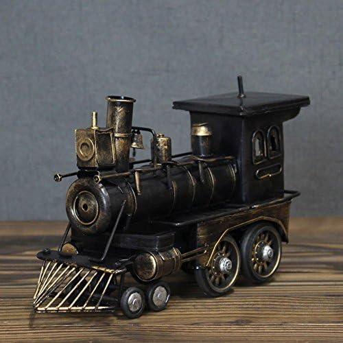 PENG Kreative Home-Office-Fenster Tischdekoration Ornamente Retro-Vintage-Lokomotive Modell Handwerk Geschenke