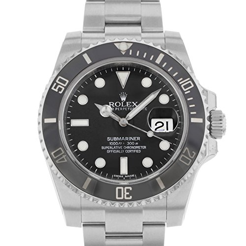 Rolex Submariner Date Black Dial Ceramic Bezel Men's Watch 116610LN by Rolex (Image #2)