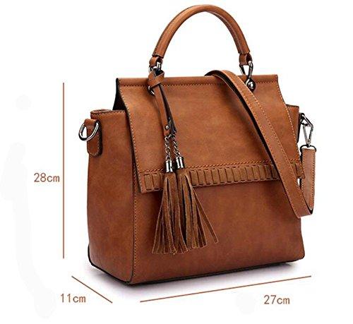 CHAOYANG-borsa a tracolla con frange femminile del sacchetto diagonale signora