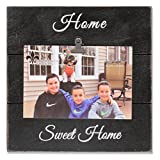 Lawrence Frames 4 x 6 Weathered Black Woodlands Clip Picture Frame-Home