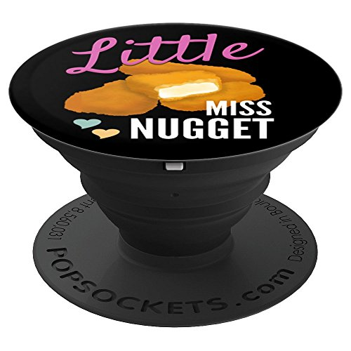 - Little Miss Nugget Chicken Nuggs Artwork - PopSockets Grip and Stand for Phones and Tablets