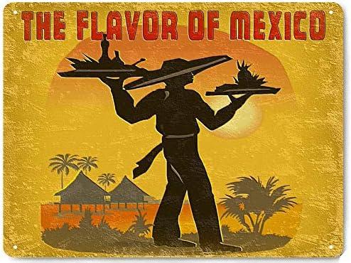 Retro vintage style metal tin sign gift Home Decor garage Mexican Grand Prix
