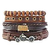 ZSDGY Weave 4 Piece Bracelet, Men's Jewelry DIY Stack Bracelet Bracelet