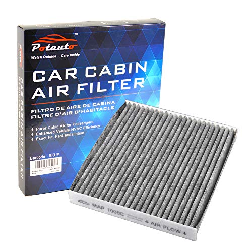 POTAUTO MAP 1008C (CF10285) Replacement Activated Carbon Car Cabin Air  Filter for TOYOTA, LEXUS, SUBARU, PONTIAC, SCION (Upgraded with Active  Carbon)