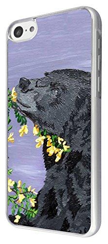 426 - Coll Black Bear Design iphone 5C Coque Fashion Trend Case Coque Protection Cover plastique et métal