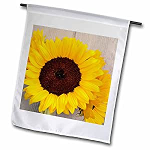 fl_38020_1 Patricia Sanders Flowers - Garden Sunflowers- Yellow Flowers- Photography - Flags - 12 x 18 inch Garden Flag