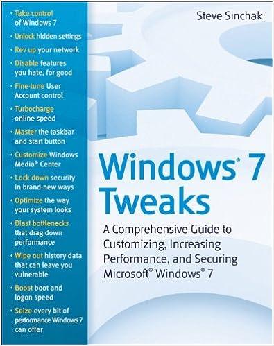 windows tweaks guide ebook