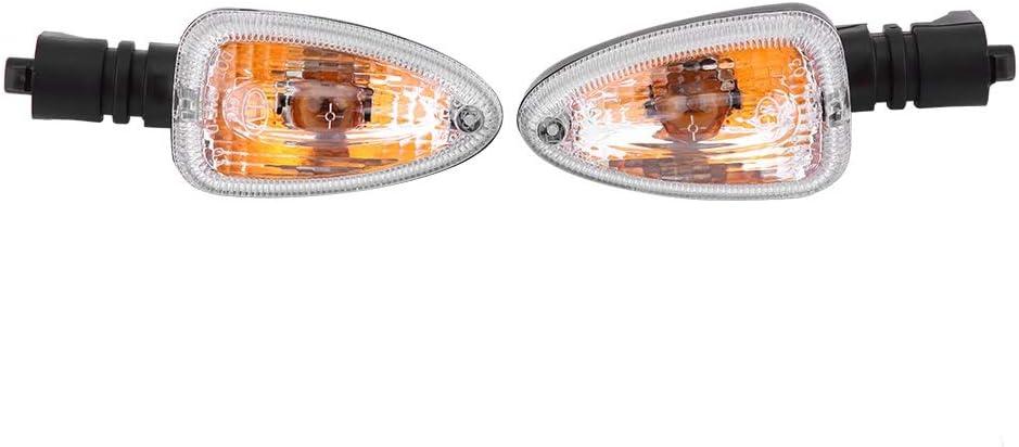 Clignotants Paire de feux de clignotant for clignotants moto for BMW F800 Couleur : Blanc
